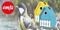Krmítko pro ptáčky značky Emsa