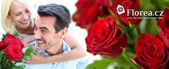 Svazek deseti růží El Toro v délce 40 cm