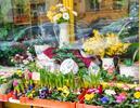 Vkusné velikonoční dekorace na pomník