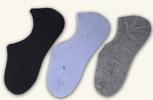 9 párů dámských bavlněných ponožek do tenisek