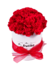 Luxusní krabice čerstvých květin až domů