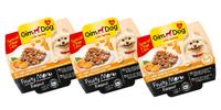 3 balení krmiva GimDog s jehněčím a zeleninou