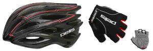 Bezpečná jízda: cyklistická přilba a ochranné rukavice Pell's Nairon