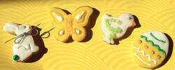 Silikonové pečicí formy s jarními motivy
