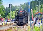 Jízda parním vlakem + parostrojní festival