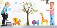 Velkoformátové samolepky na zeď: motivy pro děti i dospělé