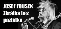 Vstupenka na koncert Josefa Fouska
