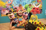 Postavičky a masky z nafukovacích balonků