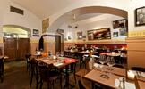 Francouzská jídla v ceně 1000 Kč v centru Prahy