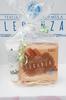 Tělový peeling a krém na ruce značky Leganza