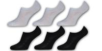 Dámské ponožky do tenisek a jarních bot