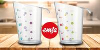 Kuchyňská odměrka Emsa s měřítky ingrediencí