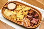 Mix grill s doplňky dle výběru až pro 4 osoby