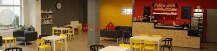 Kavárna s hernou: vstup pro 2 děti, káva, limča