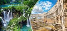 Přírodní a historické perly Chorvatska a Slovinska
