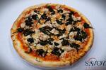 Dvě pizzy ve vyhlášené restauraci Savoy