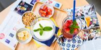 Vydatná snídaně ve stylové vinohradské cukrárně