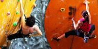 Dejte si do těla: Vstupy na lezeckou stěnu