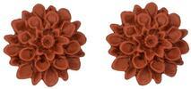 Ručně vyráběné květinové náušnice Flowerski