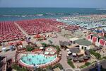 Dominanty San Marina s pobytem na pláži v Rimini