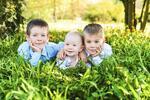 Pohodové rodinné focení v ateliéru nebo přírodě