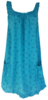 Šaty přes plavky s kotvičkami