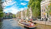 Holandsko: mlýny, Amsterdam, zábavní park Walibi