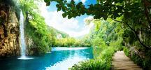 Plitvická jezera, Záhřeb a koupání na Jadranu