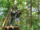 Vstupy do originálního Lanového parku Máj