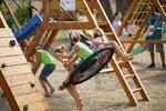 Celý den v dětském herním parku Heroland