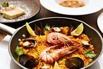 Španělské 4chodové menu s gazpachem i paellou
