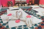 Masáž lávovými kameny vč. odpočinku v sauně