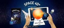 Interaktivní vzdělávací 4D karty s rozšířenou realitou