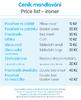 Mandlování a žehlení v prádelnách Quickwash v Plzni