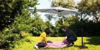 Zahradní slunečníky Exclusiv s LED svícením