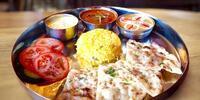Na skok do Orientu: indické thali pro 2 osoby