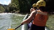 Půldenní rafting na rakouské řece Salza