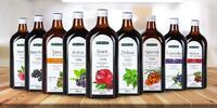 Zdravé ovocné šťávy bez chemie v různých příchutích