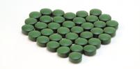 Blahodárná řasa Chlorella Japan plná vitamínů