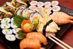 Sushi set pro 2 i s polévkou + tempura a dezert