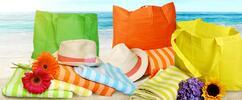 Rychleschnoucí osuška a plážová taška