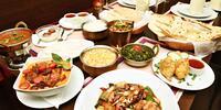 Menu s indickými a thajskými specialitami pro 2