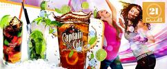 3 různé drinky nebo maxi drink Bacardi Oakpipe
