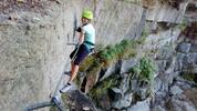 Via ferrata kurz v Horolezecké aréně v centru Liberce