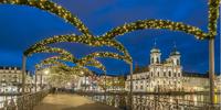 Adventní Luzern a trhy na hoře Pilatus Kulm