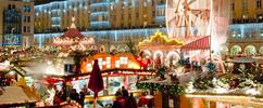 Vánoční Drážďany a Popelčin zámek Moritzburg