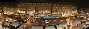 Krásy Bambergu a Norimberku v době adventu