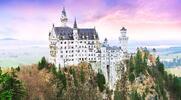 Zámek Neuschwanstein a malebný advent ve Füssenu