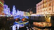 Slovinské láznění a adventní trhy v Lublani