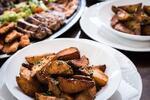 Masové špízy čtyř vůní s americkými brambory